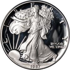 1987-S Silver American Eagle $1 ANACS PF70 DCAM - STOCK