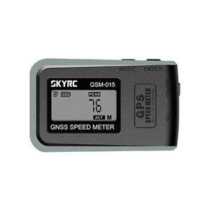 SkyRC GSM-015 GPS Speedometer Altimeter NEWEST VERSION RC Car Plane Speed Meter