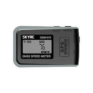 SkyRC GSM-015 GPS Speedometer Altimeter NEWEST VERSION RC Car Plane Speed Meter