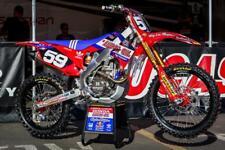 Honda Graphics Kit CRF 250 2014 - 17 / 450 R 2013 - 16 Lucas Oils AMA Motocross