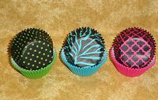 Neon Brights, Fashion Bake Cups, Wilton, 150 count, Cupcake papers, New, Ze
