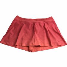 Nike Golf Tennis Skort Skirt w Spandex Shorts Pink Elastic Waistband XL
