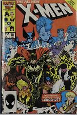 Marvel 25th Anniversary The All New X-MEN 10 1986