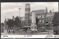 Lancashire Postcard - View of St Helens - Pamlin Print D359