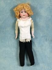 Heubach Koppelsdorf 275 Germany Bisque Leather Doll RARE Antique Outfit Bra