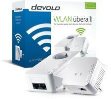 DEVOLO 8587 dLAN 1000 / WiFi 550 Starter Kit Powerline Adapter