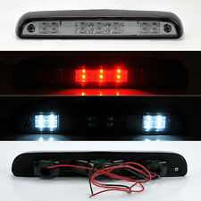 Ford F150 F250 F350 Bronco 92-96 Rear 3rd LED Brake Light Smoke Clear