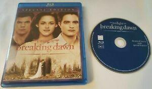 The Twilight Saga: Breaking Dawn - Part 1 (Blu-ray Disc, 2012) DISC AND CASE