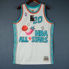 100% Authentic Gary Payton Mitchell Ness NBA All Star Swingman Jersey Size M 40