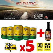 OLIO 314040 TECHNOS C60  mSAPS 5W-40 5L (4+1 OMAGGIO) + ENGINE TUNE UP BARDAHL