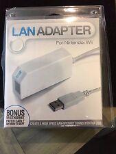 LAN Adapter For Nintendo Wii