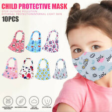 1/10 Pieces Boy Girl Kid Child Reusable Washable Mouth Mask Protection Anti Haze