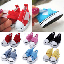 Handmade Props 1/6 Scale Doll Shoes Mini Sneakers Toys Accessories Denim Canvas