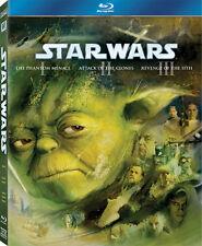Star Wars Episodes I, II, & III - 3 Disc Blu-Ray Boxset - George Lucas