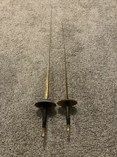 Vintage Detailed Non-Matching Fencing Swords