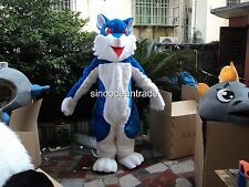 Wolf Mascots Costume Birthday party Fancy Dress Adults size Outfits professional