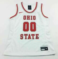 Nike Playmaker Ohio State Buckeyes Basketball Game Jersey Women's M White Av2183