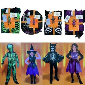 Halloween Costume Childrens Kids Girls Boys Scary Fancy Dress Up Outfit October