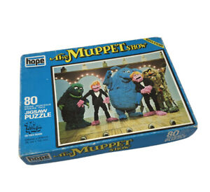 Vintage 1978 The Muppet Show Jigsaw Puzzle - 80 Pieces - Complete