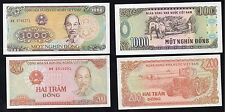 200 e 1000 dong Viet Nam 1987/88 qFDS/UNC- (2 banconote)  §