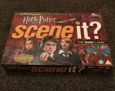 Harry Potter Scene It The DVD Trivia Spellbinding Board Game VGC 100% Complete