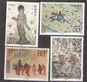 PRC. 2407-10. 92-11. Dunhuang Murals (4th Series) Set of 4. MNH. 1992