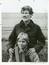 KRIS KRISTOFFERSON CINDY PICKETT PORTRAIT AMERIKA ORIGINAL 1987 ABC TV PHOTO