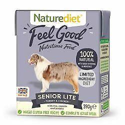 Naturediet Feel Good Senior Lite - 390g - 499348