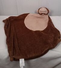 ANGEL DEAR Plush Brown Monkey Security Blanket Lovey