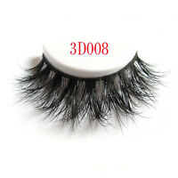 1Pair Long Natural Thick Mink Handmade Makeup Fake False Eyelashes Eye Lashes