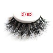 1Pair Long Natural Thick Mink Handmade Makeup Fake False Eyelashes Eye Lashes