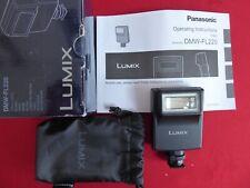 Panasonic Lumix DMW-FL220L Digital Camera External Flash Gun - Little use.