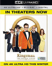 Kingsman The Golden Circle 4K UHD. No digital or BluRay