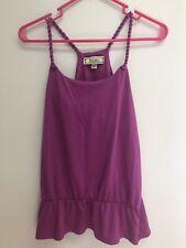Decree Ladies Cami Top Size L Purple