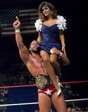 MACHO MAN RANDY SAVAGE & MISS ELIZABETH 8X10 PHOTO WRESTLING PICTURE WWF