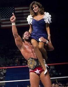 MACHO MAN RANDY SAVAGE & MISS ELIZABETH 8X10 PHOTO WRESTLING PICTURE WWF