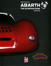 ABARTH BOOK WINS SCORPION SECCATORE SERGIO RACING COMPETITION