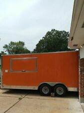 2018 - 8' x 20' Snapper Food Concession Trailer with Unused 2019 Kitchen Build-O