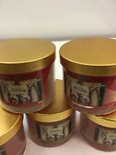 LOT OF 5X Bath and Body Works Holiday Mini Candle 1 wick 4 oz