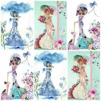 12 ELEGANT LADIES STYLE #2 Embellishments, Card Making Toppers, Card Toppers