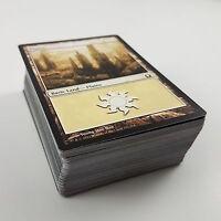 MTG 100 X Plains White Land Cards Black Border Assorted Lot Magic The Gathering