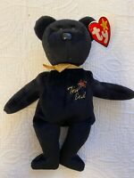 Ty Beanie Baby The End 1999 Y2k Millennium Teddy Bear with Tag Oddities