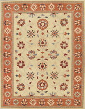 Hand-tufted Classic All-Over Floral Oushak Oriental Indoor Area Rug Wool 9x12