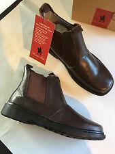 BNIB Older Boys Sz US 7.5 Thomas Cook Romper Brown Leather School Boots RRP $80