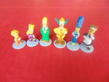 SIMPSONS BOARD GAME PIECES Clue 6 Movers Bart Lisa Marge Homer Krusty Smithers