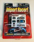 🏁 JADA Toys Import Racer! Blue 2004 Subaru Impreza WRX STi - O47 - 1:64 🏁