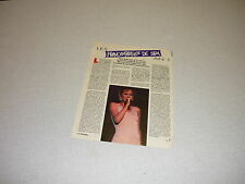*AA055  PATRICIA KASS LES FRANCOFOLIES DE SPA '1994 BELGIAN CLIPPING