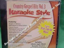 Country Gospel~#3~Christian~Daywind~Karaoke Style ~ Jesus, Take the Wheel ~ CD+G