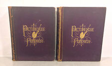 2 Volumes Picturesque America or the Land We Live In Books Illustrations 1872 E