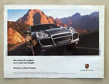 B539-Advertising Pubblicità-2003 - PORCHE CAYENNE